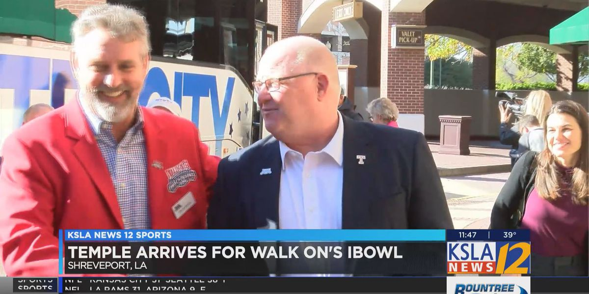 Temple arrives for Walk On's I-Bowl