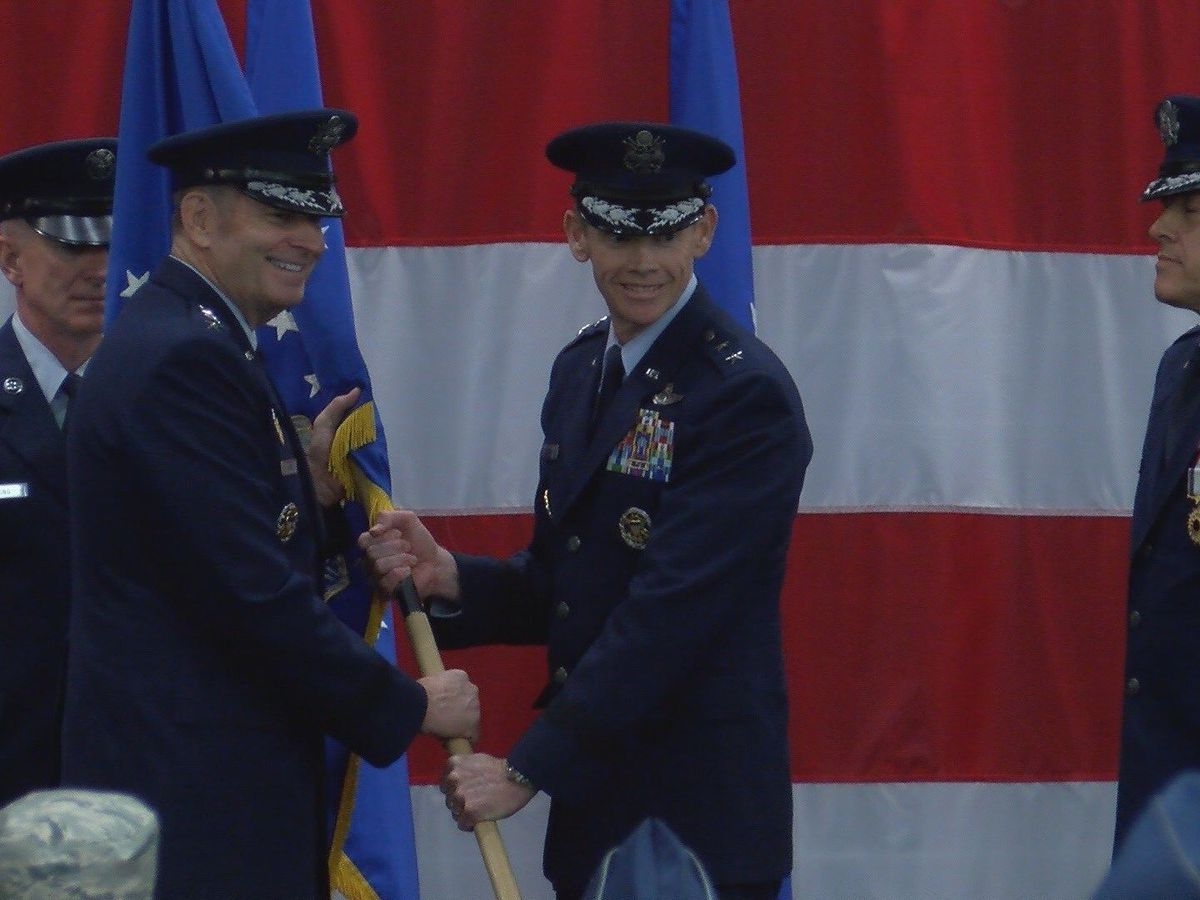 Texas native takes command of the Mighty Eighth Air Force