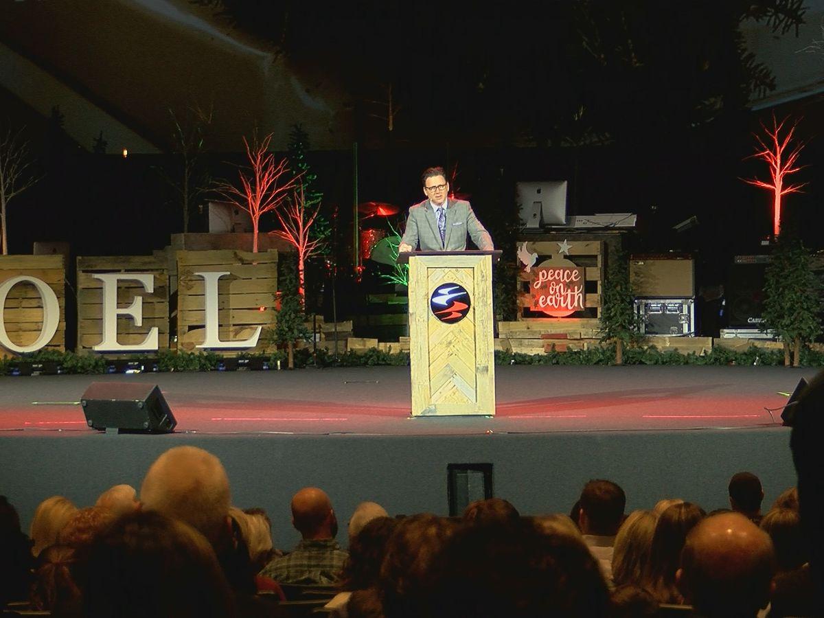 First Bossier Church hosts first worship service after devastating fire