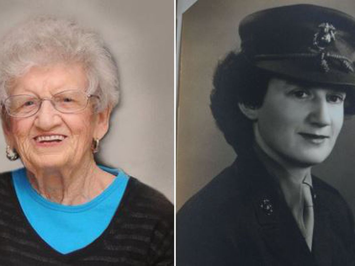 Oldest living Marine celebrates 107th birthday in Kannapolis