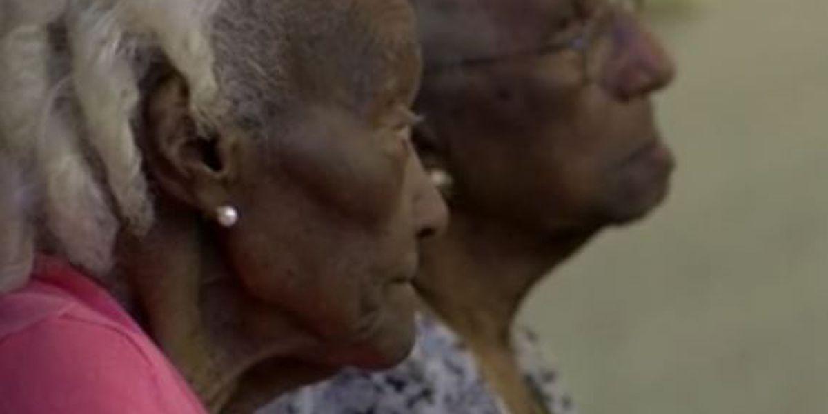 Happy 100th birthday, Clara Moore and Willie Mae Batiste