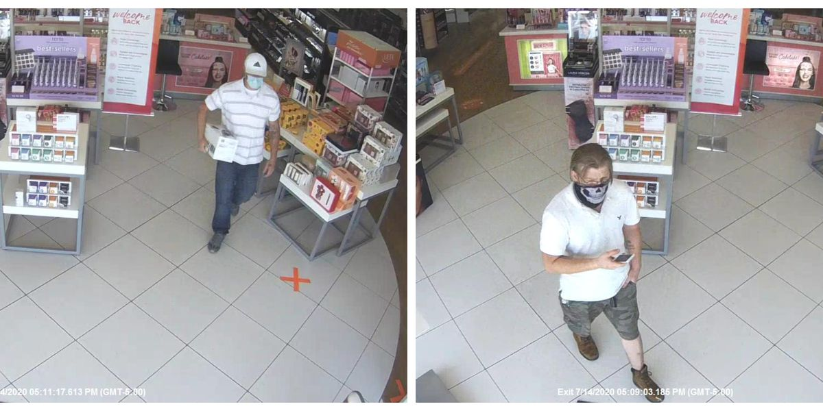 SPD searching for shoplifting suspects
