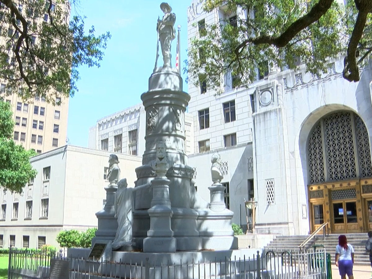 Caddo approves $500,000 to remove Confederate statue