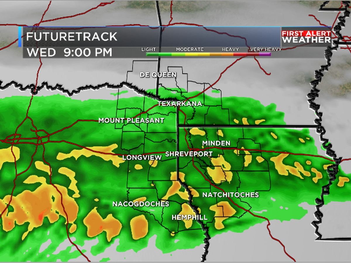More rain on the way for ArkLaTex