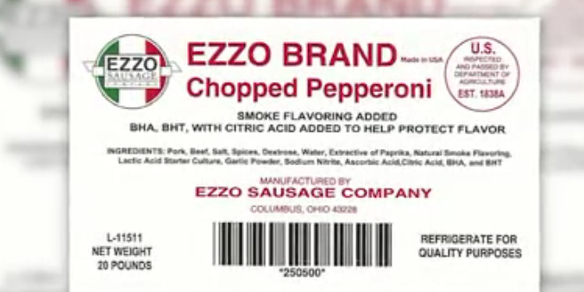 Key pizza toppings being recalled