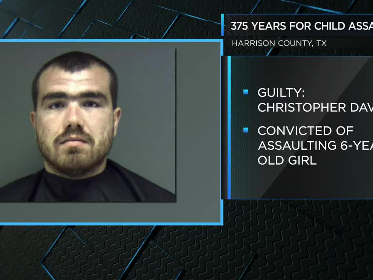 ETX man convicted of assaulting step-daughter, sentenced 375 years