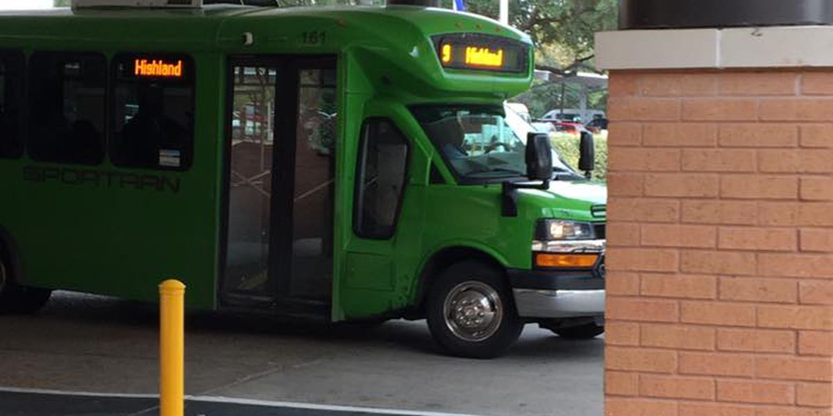 Bus resumes dropping passengers off in front of VA hospital