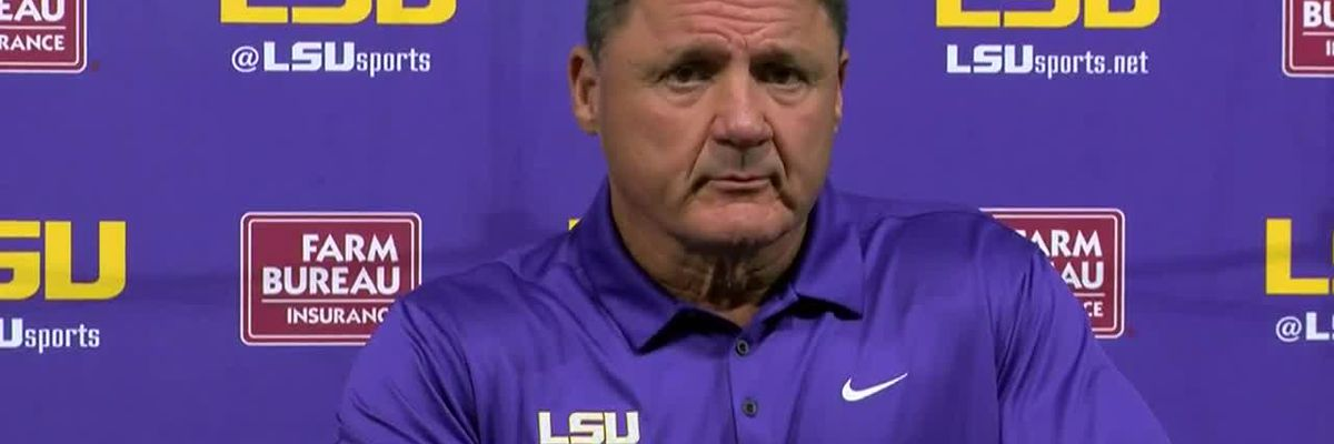Lunch with Coach O: LSU vs. Ole Miss Preview