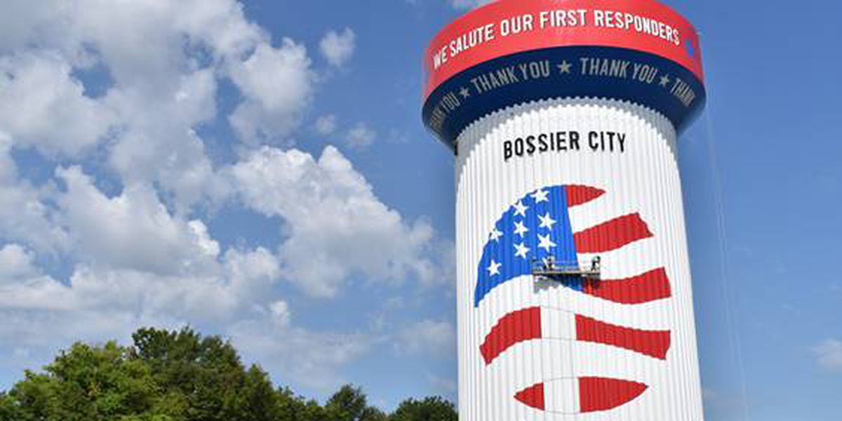 Bossier water tower nominated for Tank of the Year