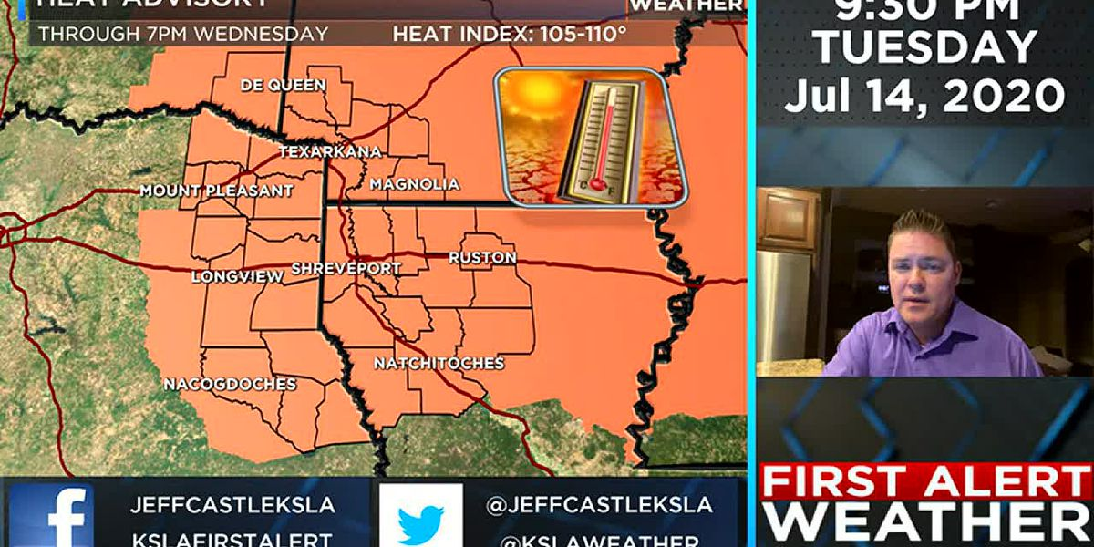 More heat, but little relief is on its way