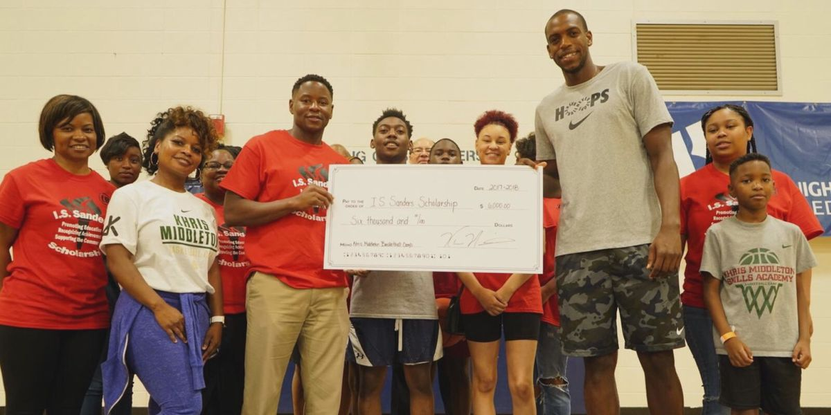 NBA All Star Khris Middleton hosts 6th Annual Basketball Camp