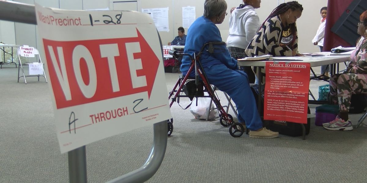 La. midterm turnout projected to surpass number in 2015 gubernatorial election