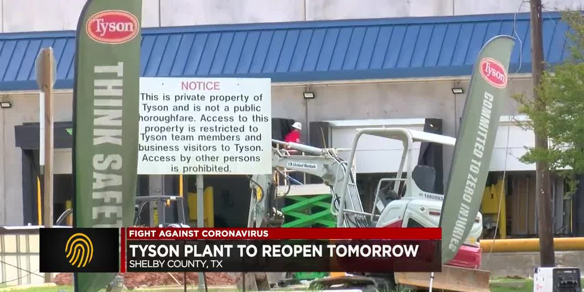 East Texas poultry plant, closed due to COVID-19 cases, now set to reopen April 28