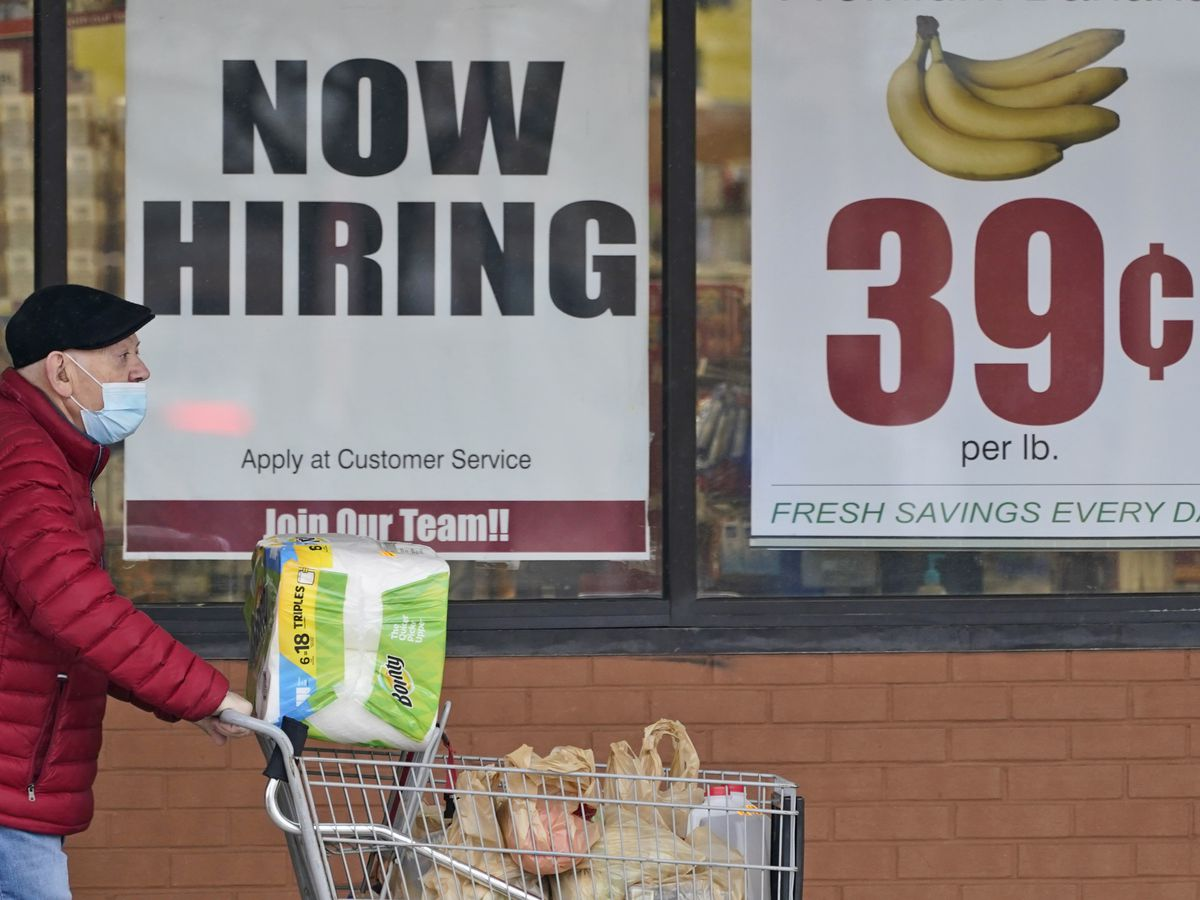 Consumer prices shot up 0.8% in April as worries escalate