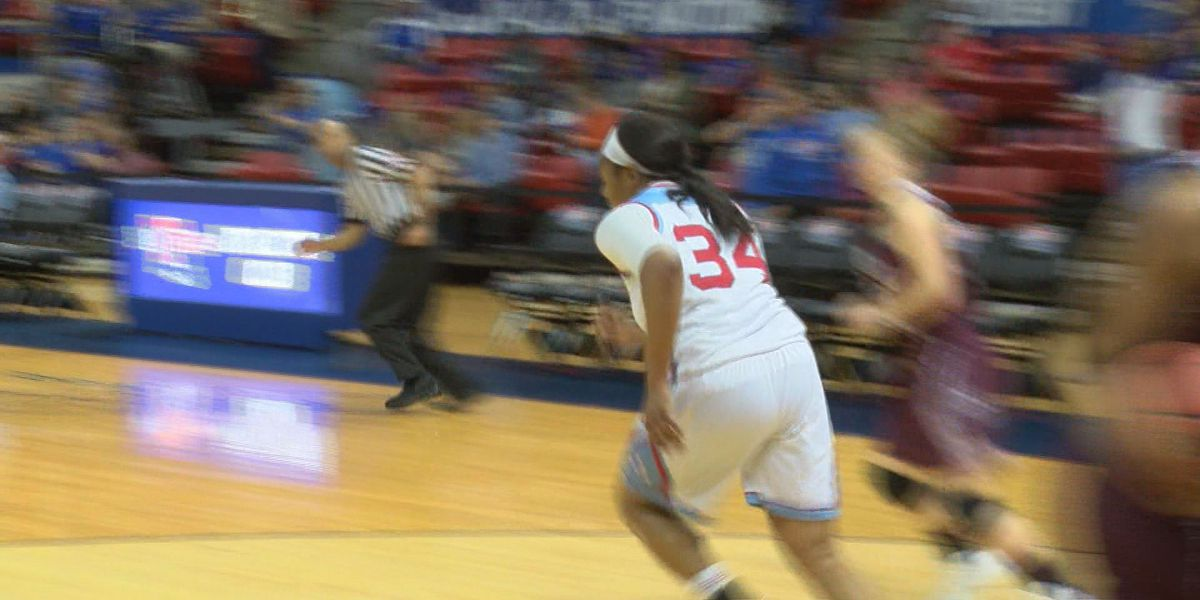 Techsters fall to Missouri St. 63-59