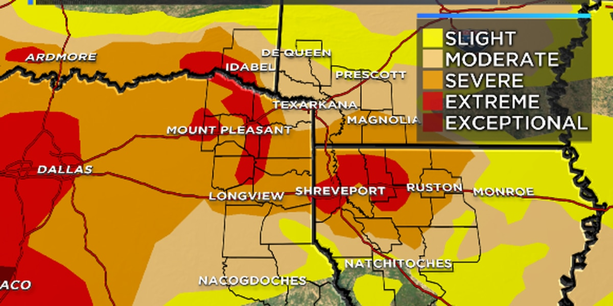 Beneficial rains should lead to drought improvement and lifting of Burn Bans.