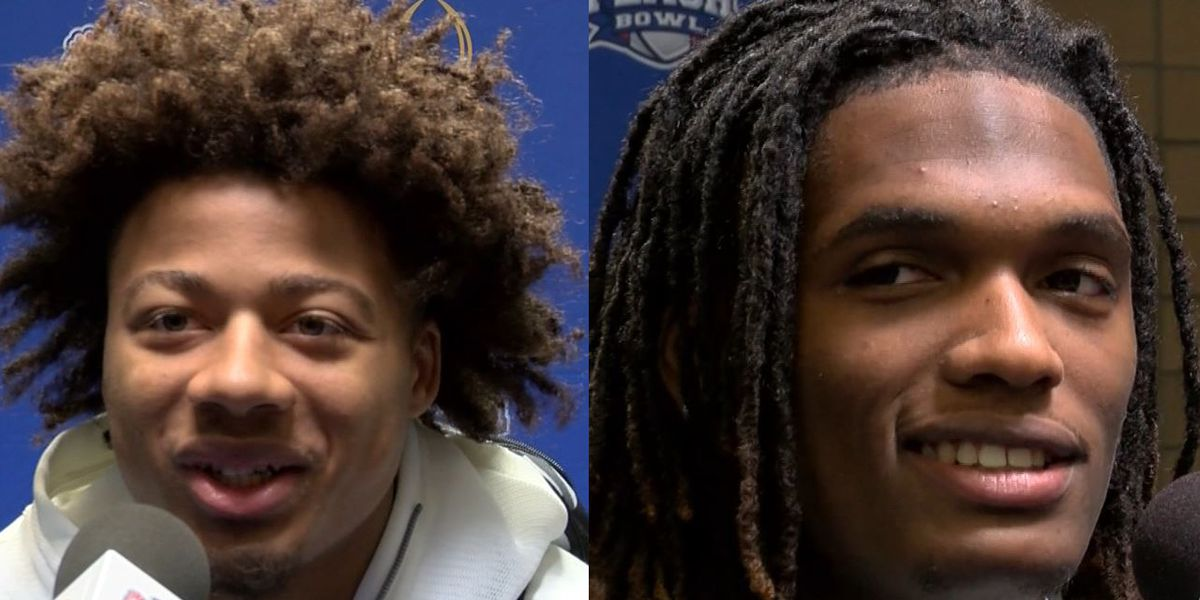 EYE ON THE TITLE: LSU's Derek Stingley Jr., Oklahoma's Cedee Lamb excited about playing against each other