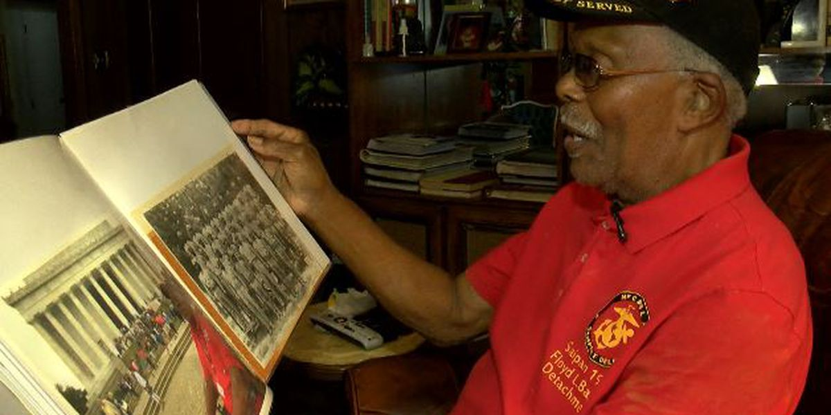 KSLA Salutes: Montford Point Marine recounts service during World War II