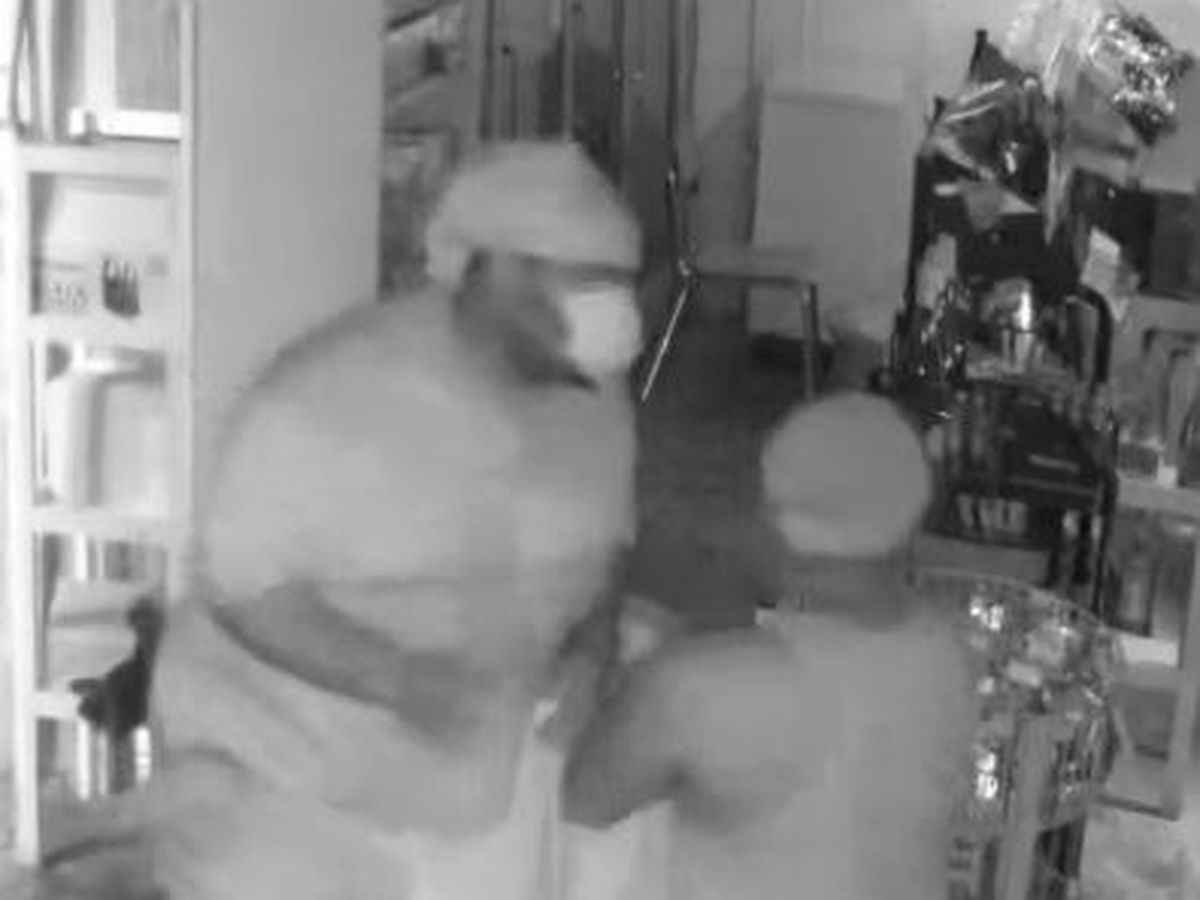 SPD search for two suspects in business burglary