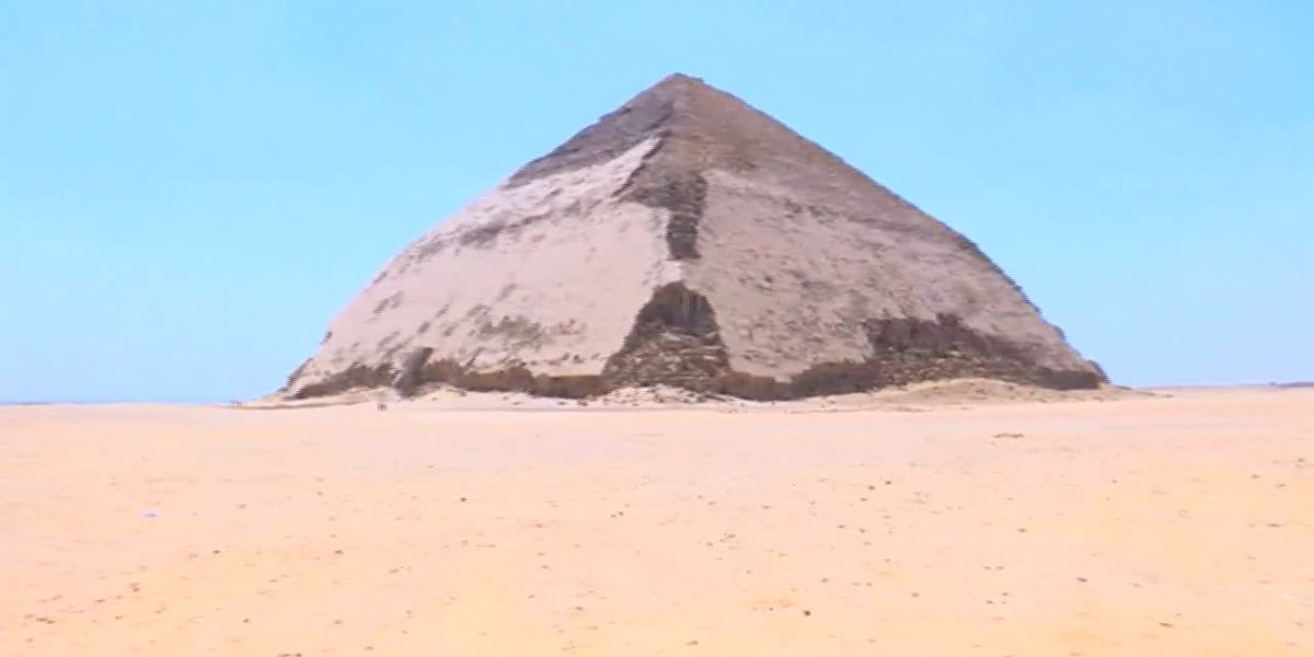 Egypt: Bent Pyramid opens for first time in decades