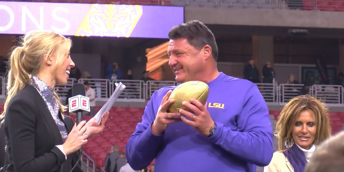 LSU set to finish in top 10 after Fiesta Bowl win