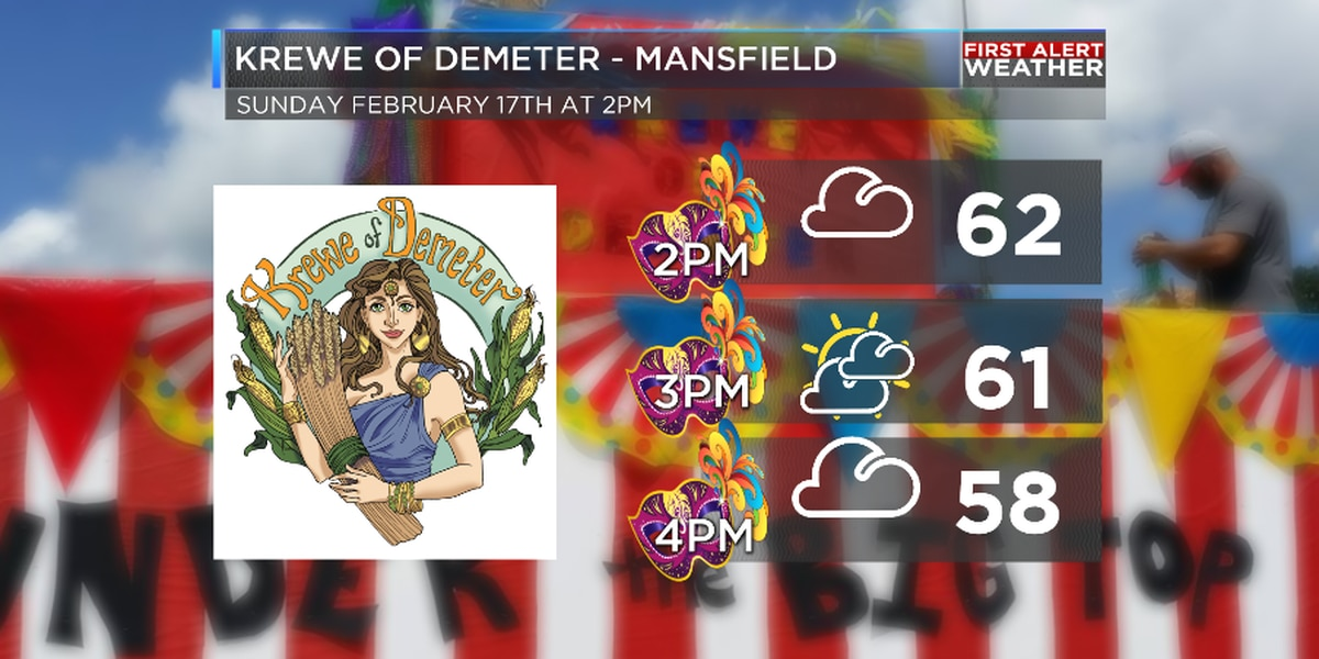 Cool but quiet for weekend Mardi Gras parades
