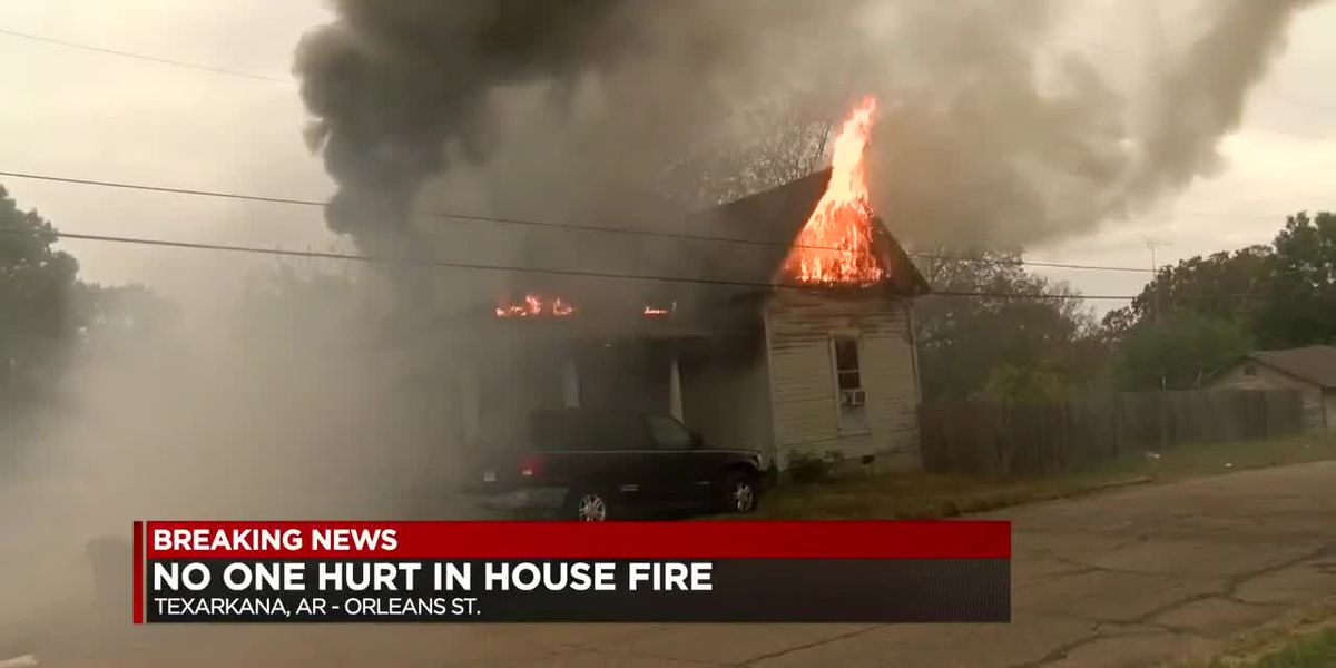 No injuries in Texarkana, Ar. house fire