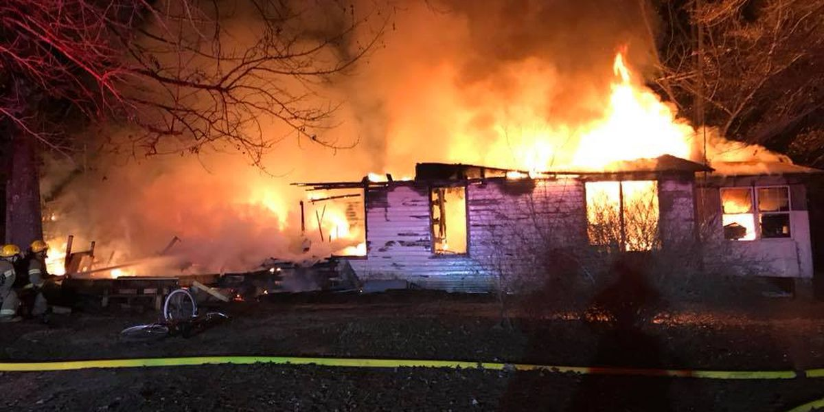 Bossier Parish home destroyed in Christmas morning fire