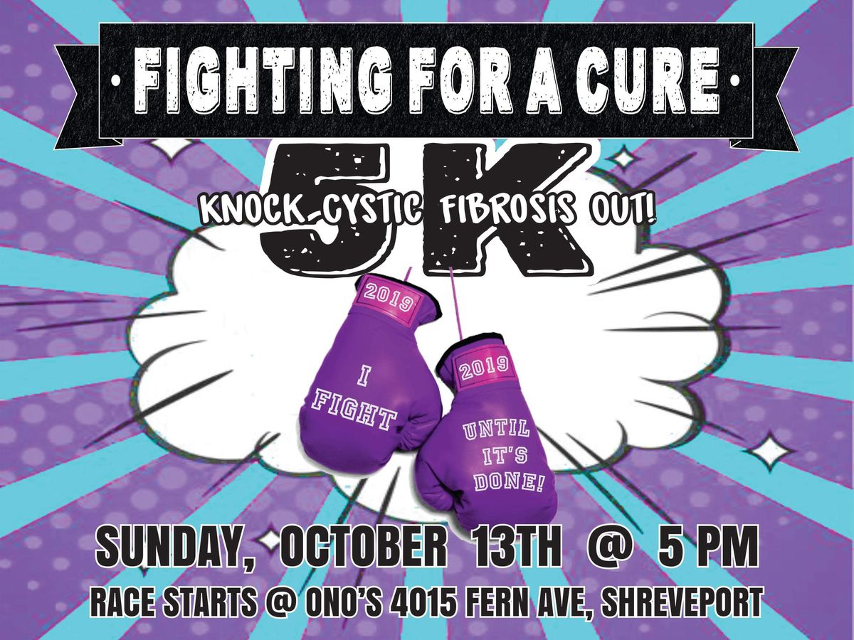 IN STUDIO: Cystic Fibrosis 5K to be held in October