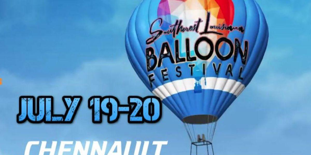Hot air balloon festival coming to Lake Charles