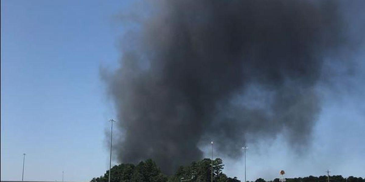 Crews battle blaze at storage facility in Texarkana, TX