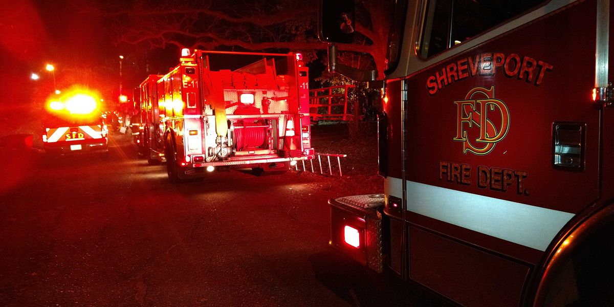 Man escapes overnight house fire