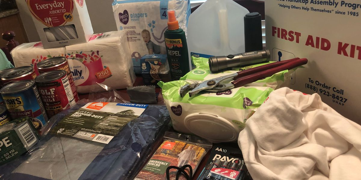Preparing for TS Barry: D.I.Y. Disaster Supply Kit