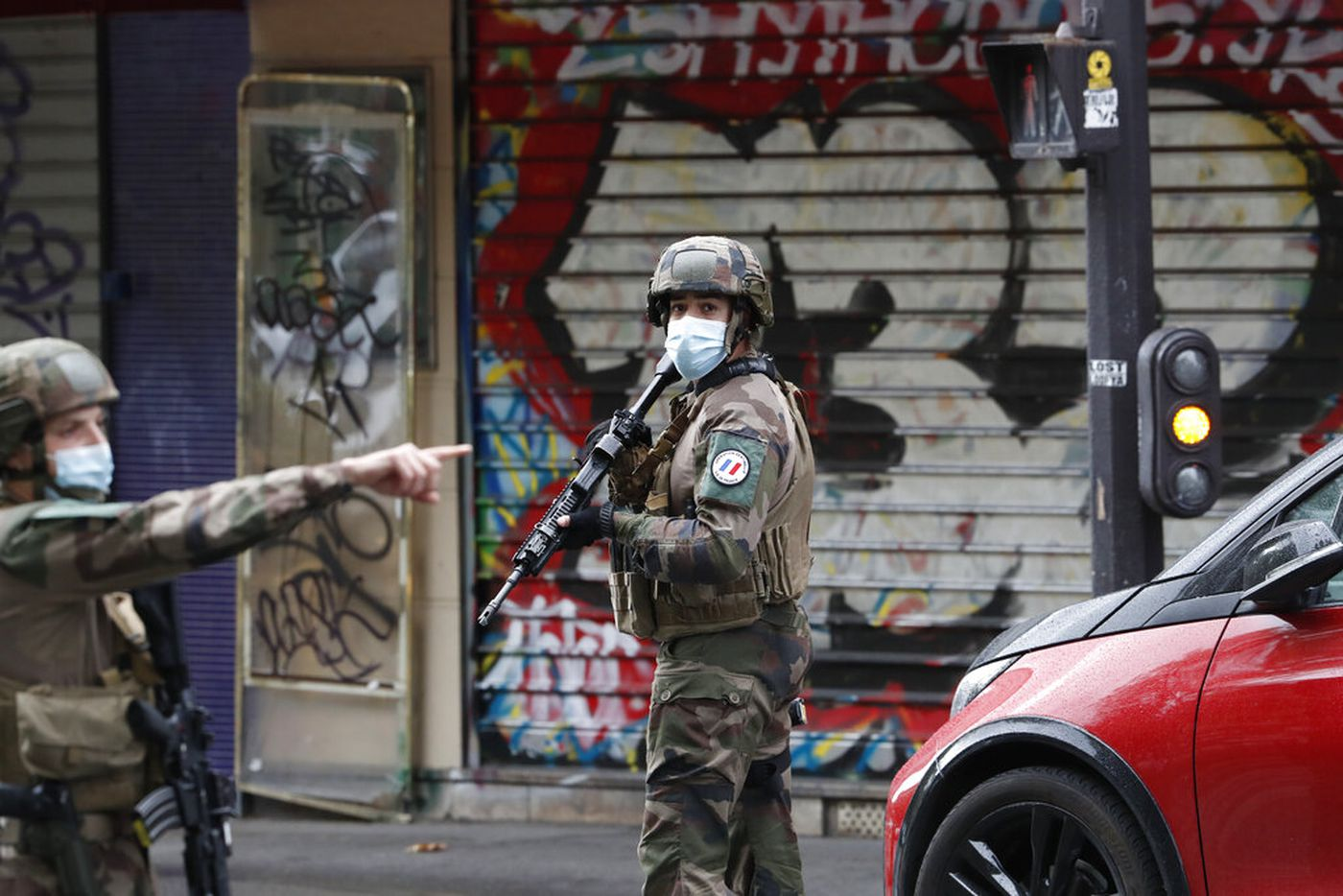 Official: Paris stabbing suspect targeted Charlie Hebdo