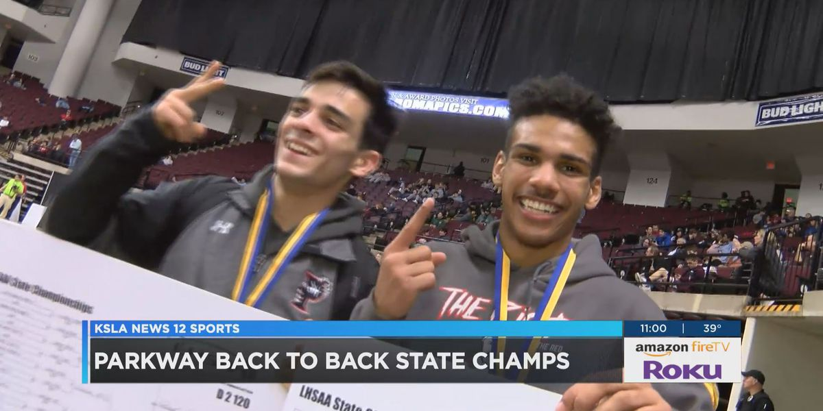 Parkway Wins consecutive Team Wrestling Titles