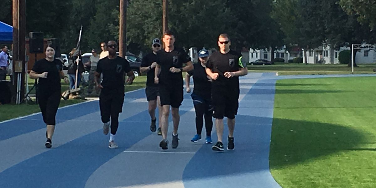24-hour run salutes POW/MIA personnel