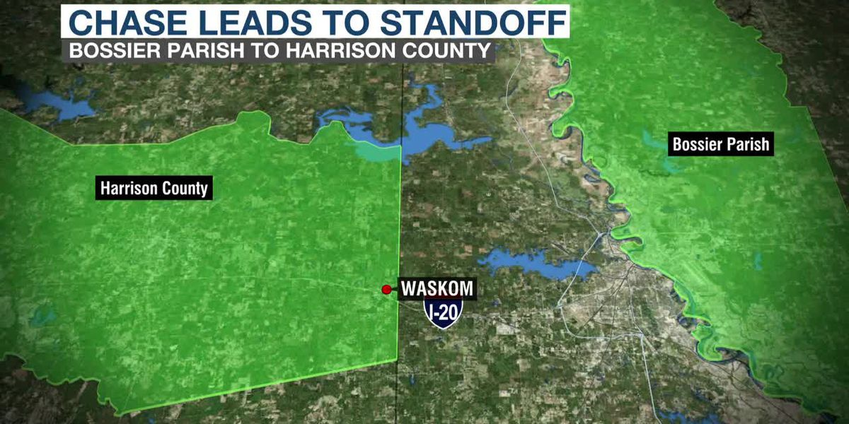 Car chase leads to standoff