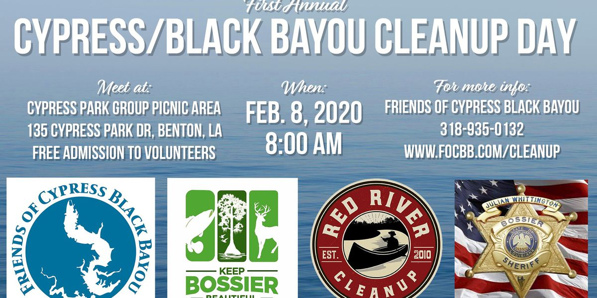 Cypress Black Bayou to host cleanup day