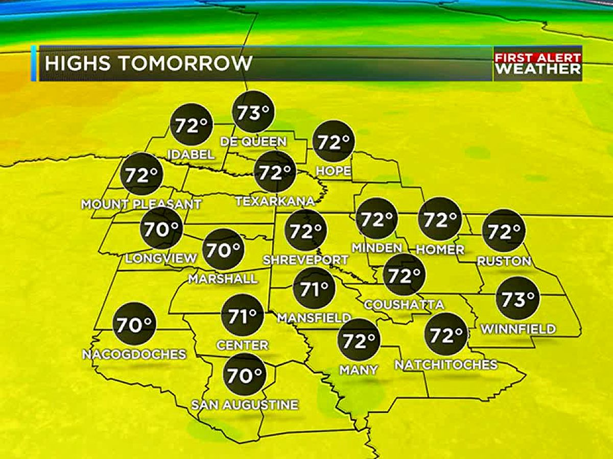 Dry and below average weather ahead