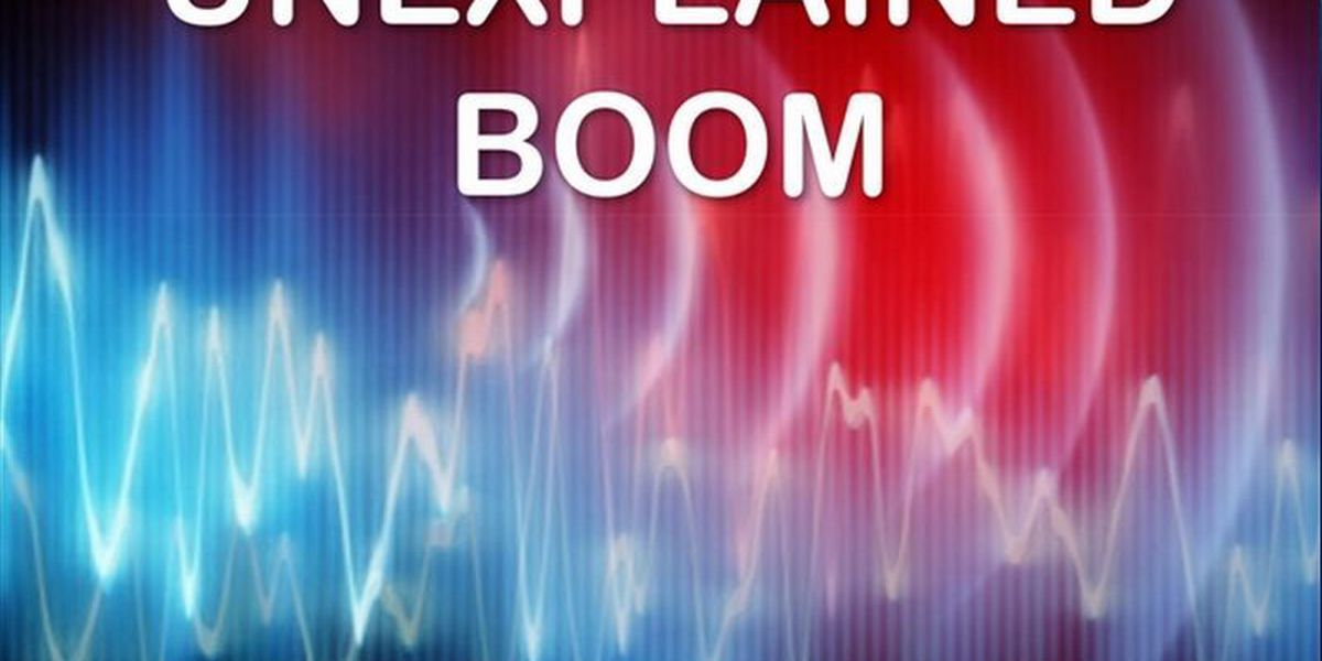 Source of boom heard around ArkLaTex not identified