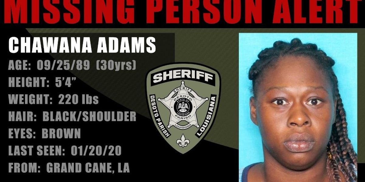 DeSoto Parish authorities searching for missing woman