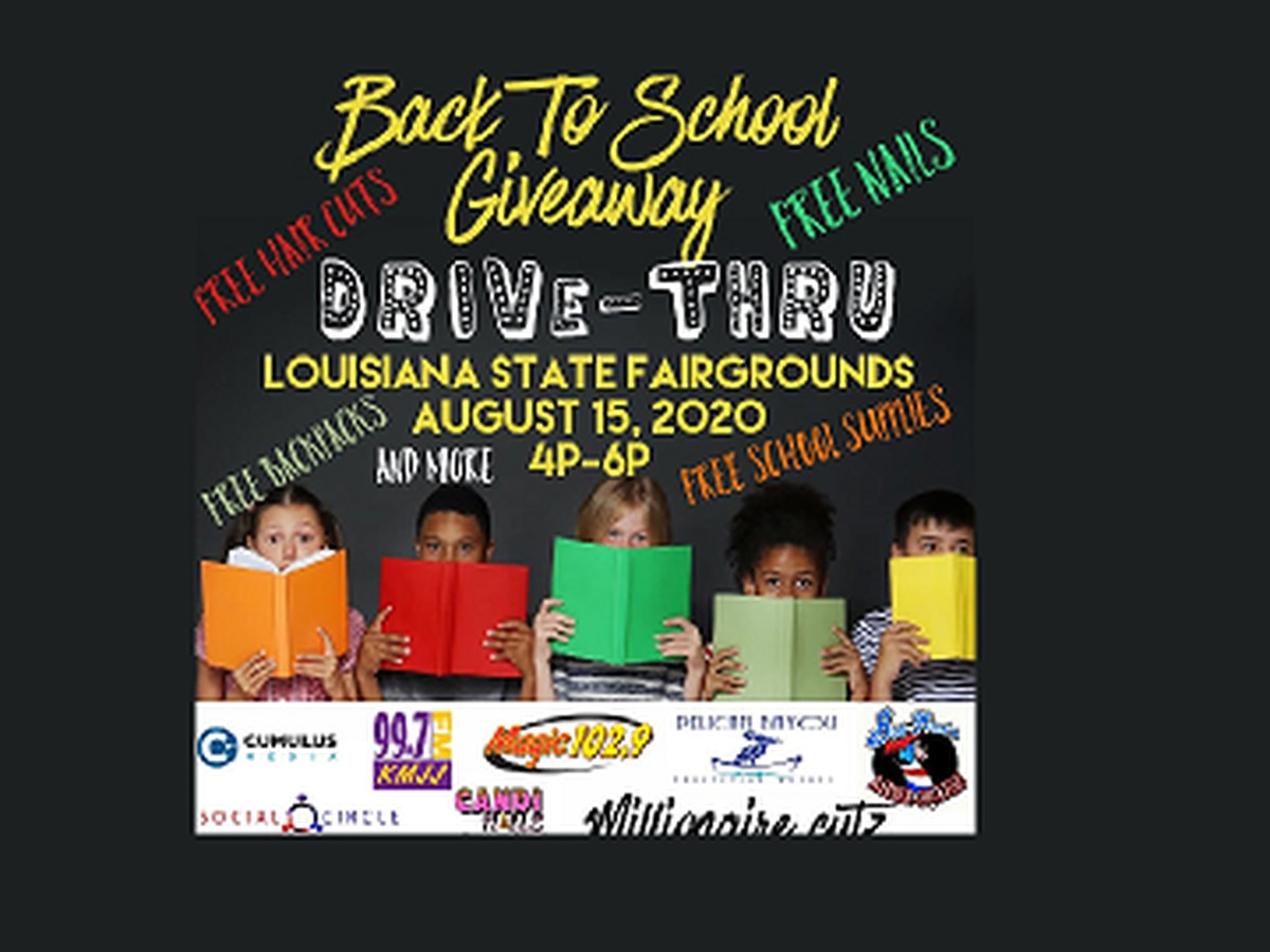 Louisiana State Fairgrounds to host back-to-school giveaway