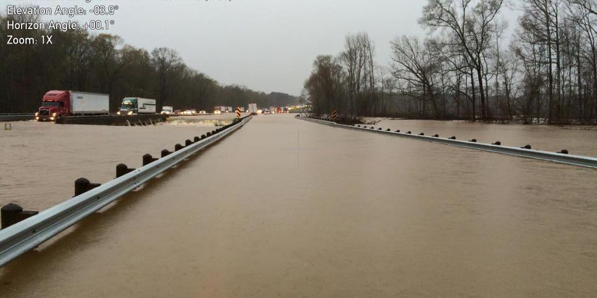 TRAFFIC ALERT: LSP releases new details on I-20 flooding closures