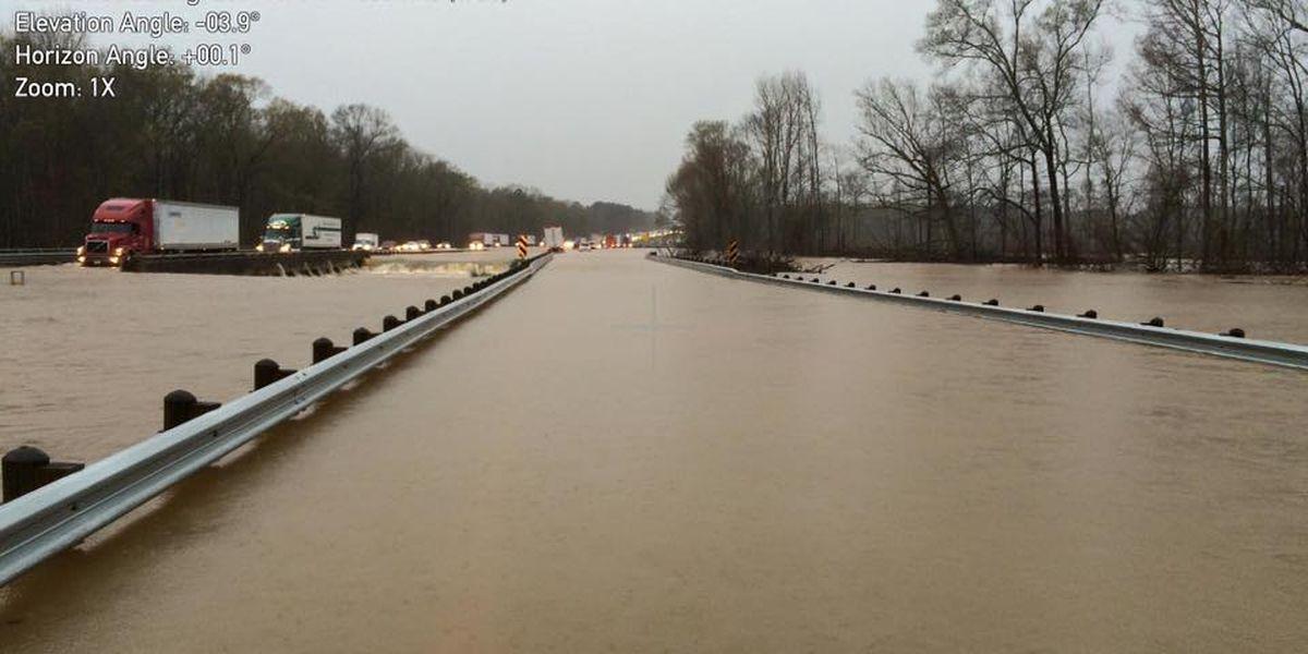TRAFFIC ALERT: LSP releases new details on I-20 flooding closures