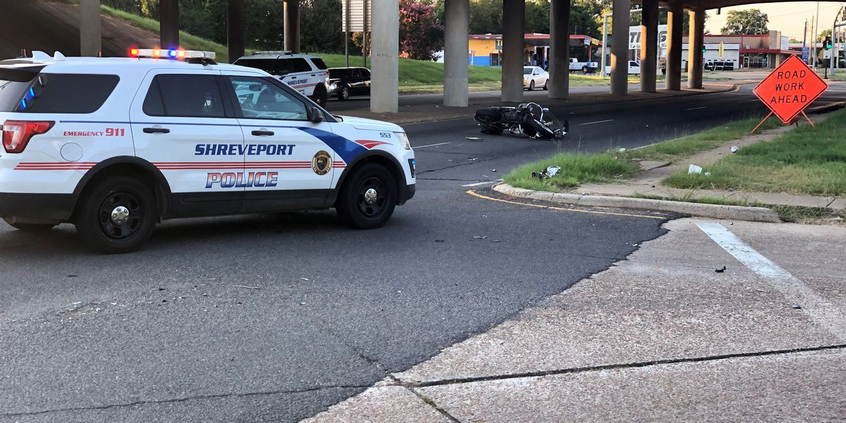 Motorcyclist hit by car suffers life-threatening injuries