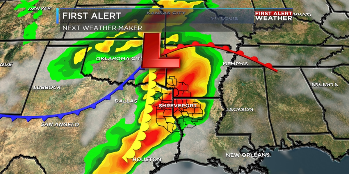 FIRST ALERT: Next round of strong storms arrives late Wednesday - Wednesday night