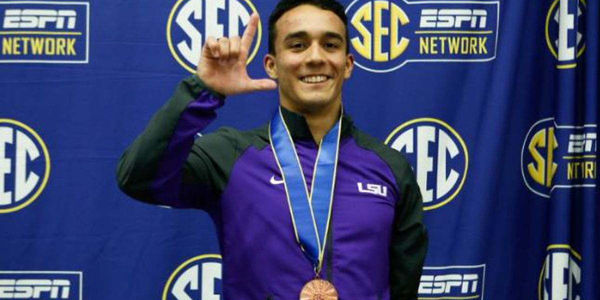 LSU diver moves closer to Olympic dream