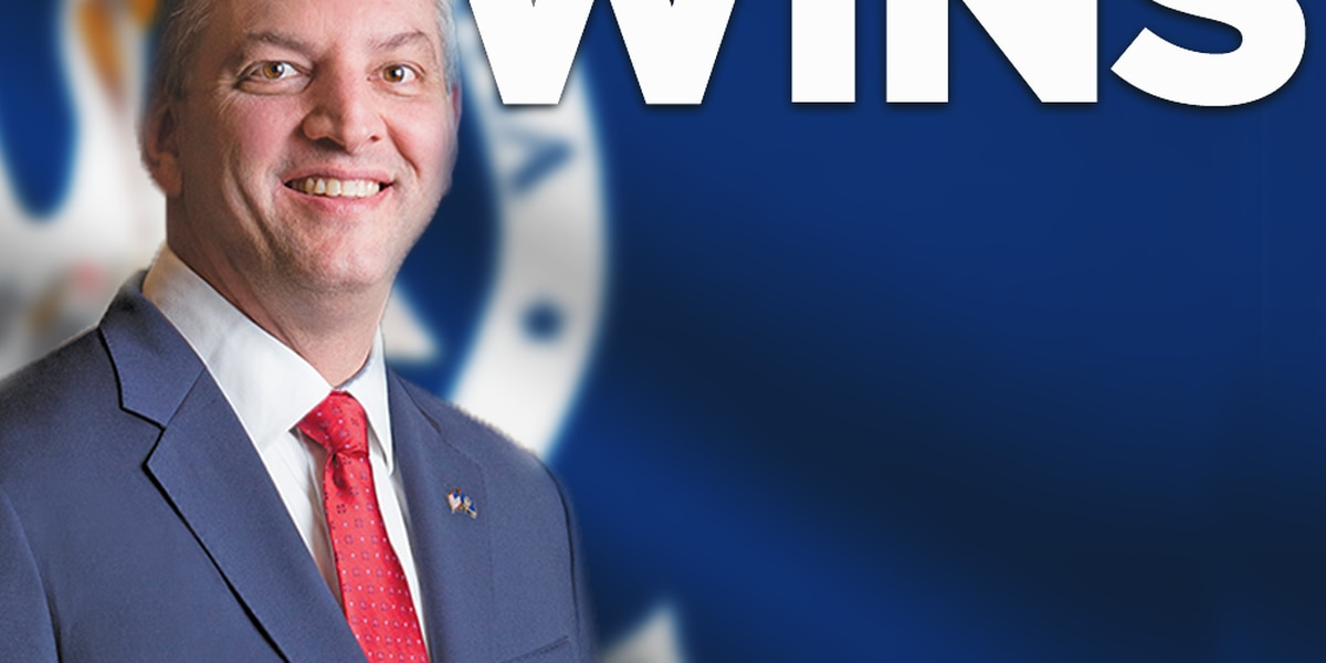 Gov. John Bel Edwards wins re-election