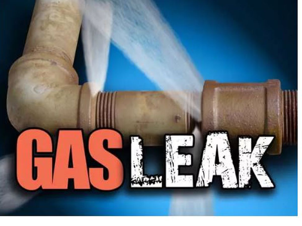 Crews fixing minor natural gas leak on Hollywood Ave.