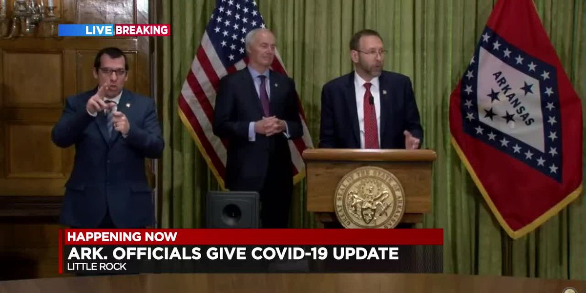 FULL BRIEFING: Gov. Asa Hutchinson's daily COVID-19 update for Arkansas -March 30